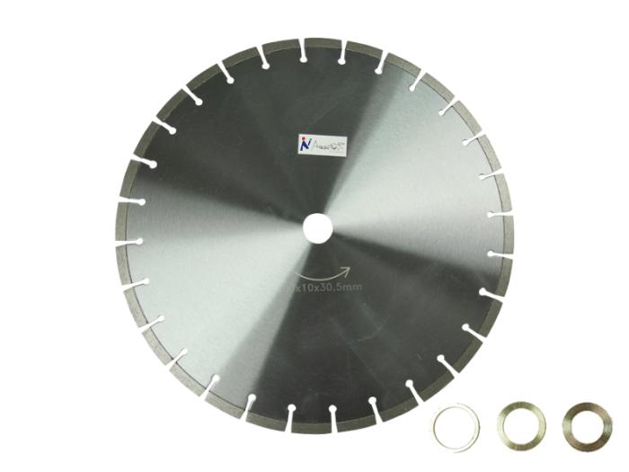 乾式/湿式 ダイヤモンド 16吋x10x30.5mm ダイヤモンドカッター400x10x30.5m・・・