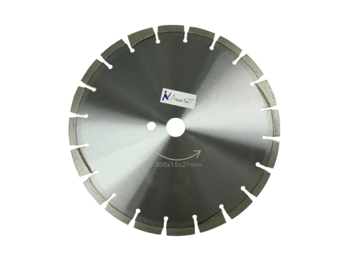 乾式/湿式 ダイヤモンド 12吋x3.0x27mm ダイヤモンドカッター300x10x27m・・・