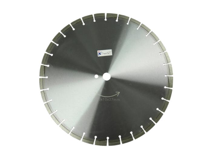 乾式/湿式 ダイヤモンド 18吋x10x27mm ダイヤモンドカッター450x10x27m・・・