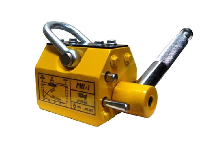 リフティングマグネット100kg リフマグ 電源不要 永久磁・・・