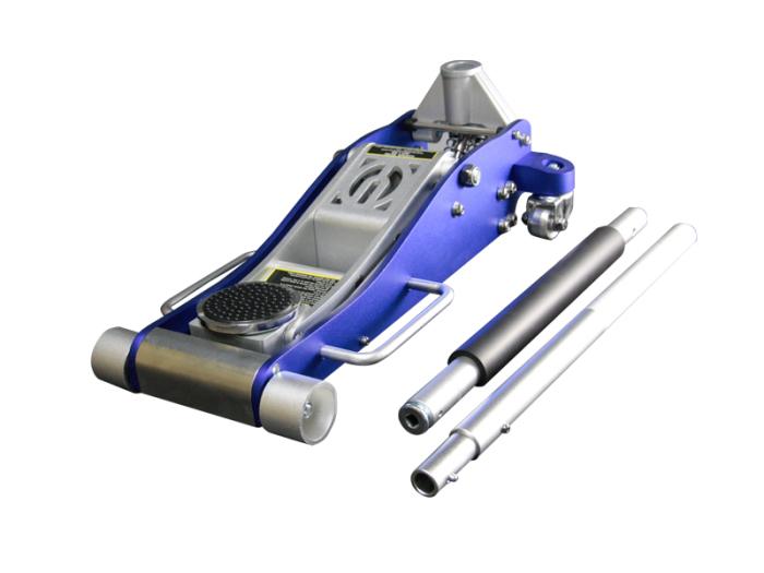 アルミジャッキ 3t 青 / 油圧式 ガレージジャッキ 耐荷重3000k・・・