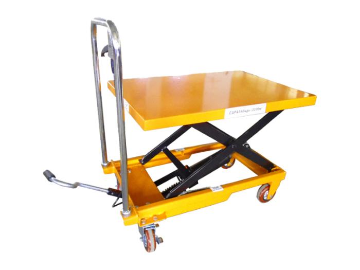 油圧式昇降台車 / 油圧テーブルリフト 150kg  リフト台・・・