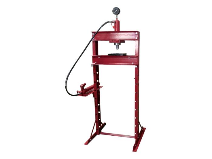 メーター付き 油圧プレス機 能力20t / 門型