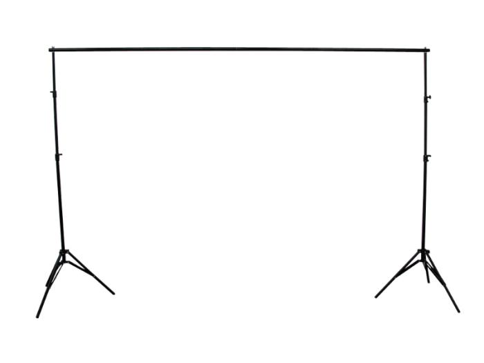 撮影用 背景布スタンド / 伸縮タイプ 背景シートスタンド 3x2.8m 写真撮影機・・・