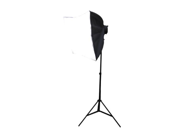 撮影照明器具 ソフトボックス 四角形 90x60cm 5灯式 スタンド付属 写真撮影機・・・