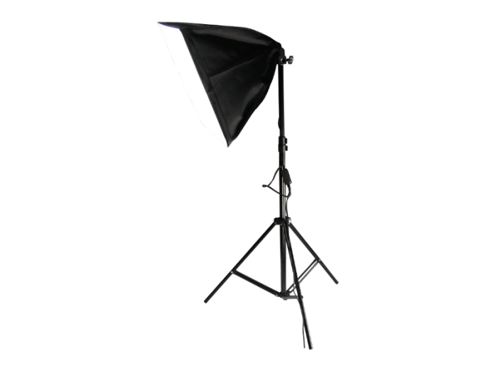 撮影照明器具 ソフトボックス 四角形 41x41cm 1灯式