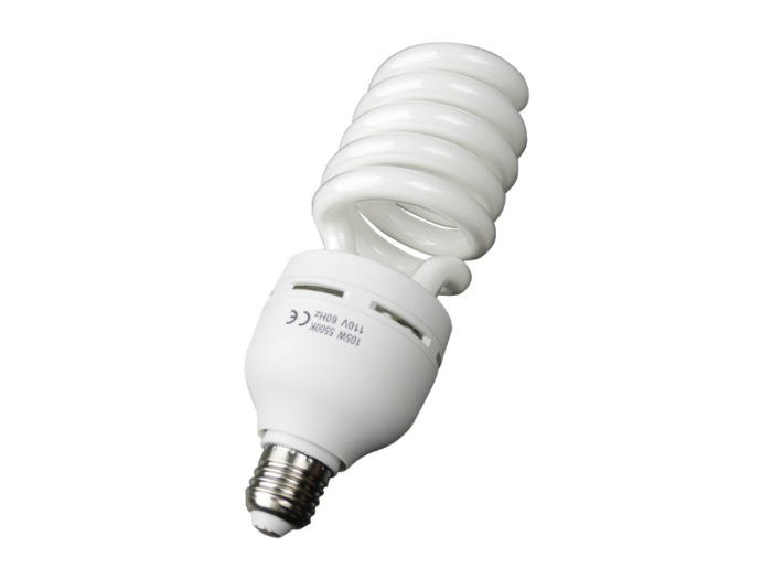 蛍光灯電球 500W相当 撮影用 家庭用 インバーター蛍光灯 10・・・