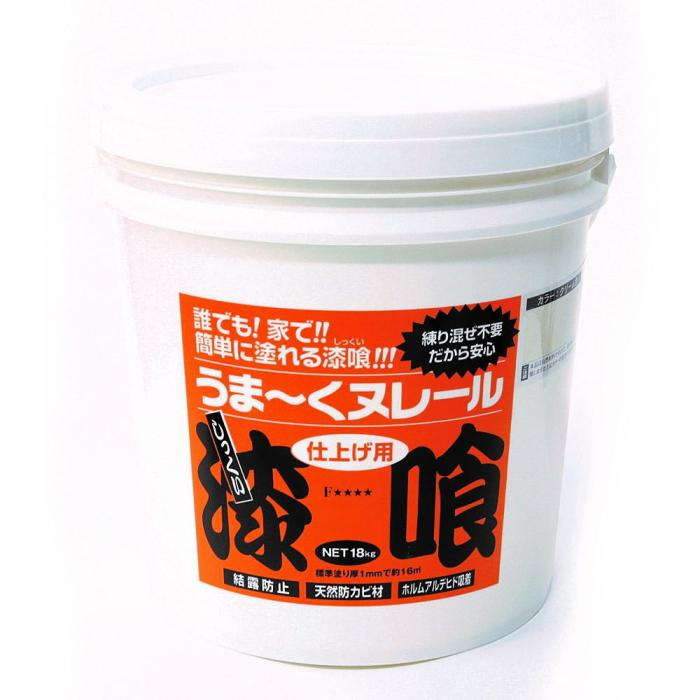 日本プラスター-漆喰うま~くヌレール-18kg-白色