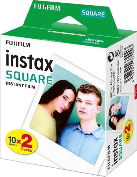 チェキフィルム- instax SQUARE 2P