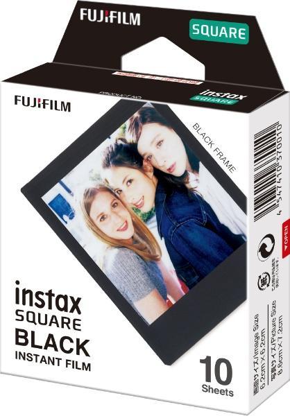 チェキフィルムinstax SQUARE BLACK FRAME WW 1