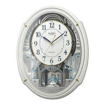 リズム時計工業【RHYTHM】電波からくり時計 スモールワールドアルディN 4MN55・・・
