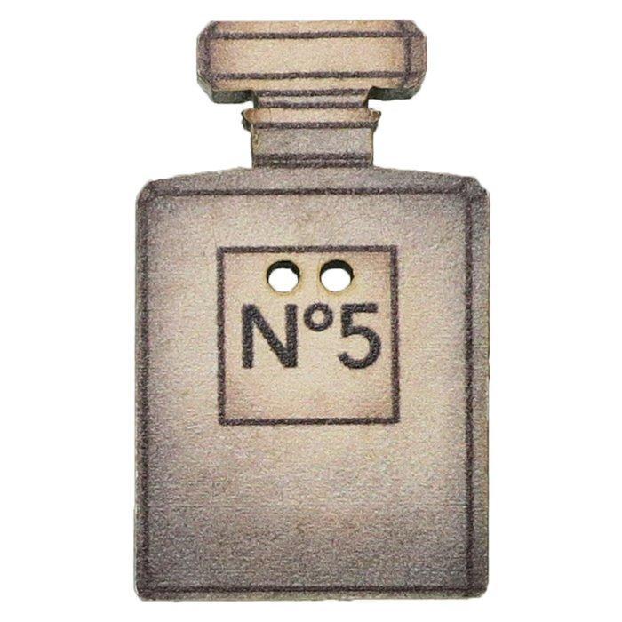 アトリエボヌールドゥジュール 手芸用品 フランス製木製飾りボタン 香水 No5 ハートアートコレクション ハンドクラフト おしゃれ 手作り 雑貨 グッズ