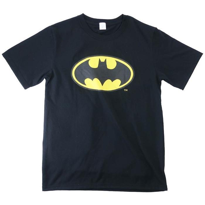 バットマン[Tシャツ]T-SHIRTS ロゴ BK DCコミック[Lサイズ]