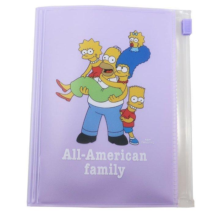 シンプソンズ パスポートカバー トラベル 雑貨 ファミリー The Simpsons サンスター文具 コレクション 雑貨 アメコミ キャラクターグッズ