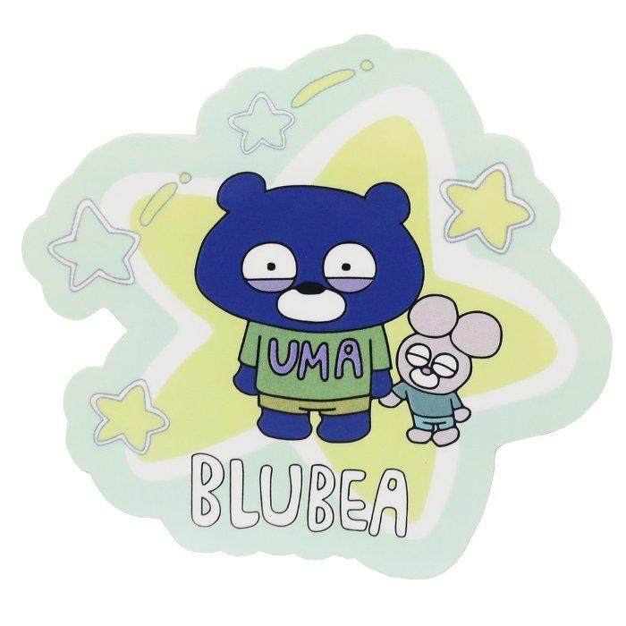 BLUBEA ブルベア ビッグシール ダイカットステッカー 星 ブルエン マリモクラ・・・