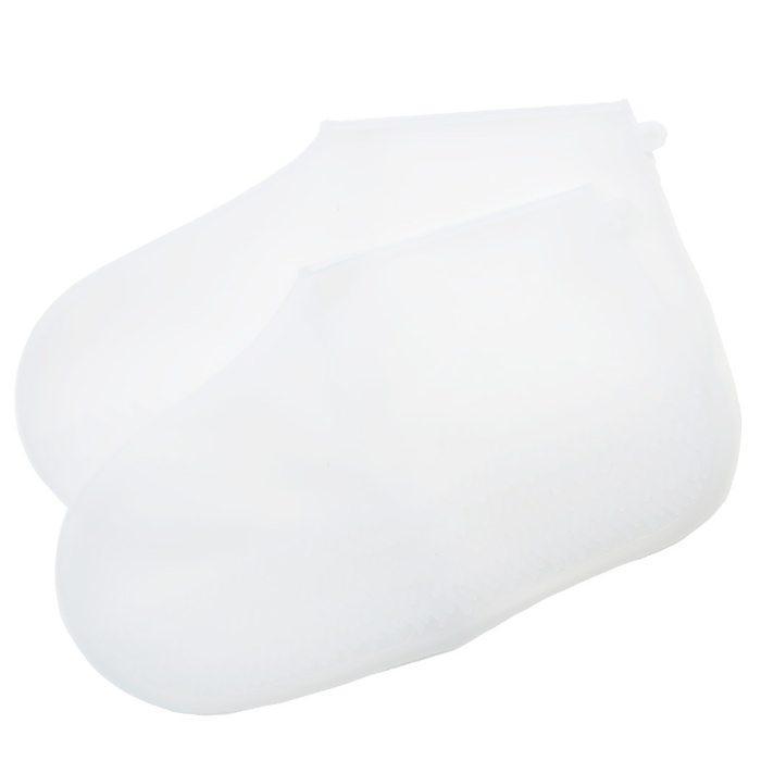 HARAINY[雨の日靴カバー]シューズレインポンチョ 半透明 【Mサイズ】