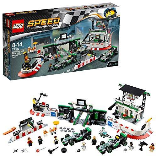 レゴ スピードチャンピオン 75883 メルセデスAMG・ペトロナス・フォーミュラ・・・