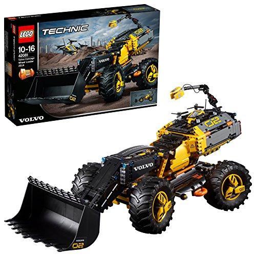 レゴ テクニック 42081 ボルボ コンセプトホイールローダー ZEUX 57020161169・・・