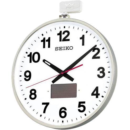 SEIKO(セイコー)大型掛時計 電波時計 ソーラー屋外用 オフィスタイプSF211・・・