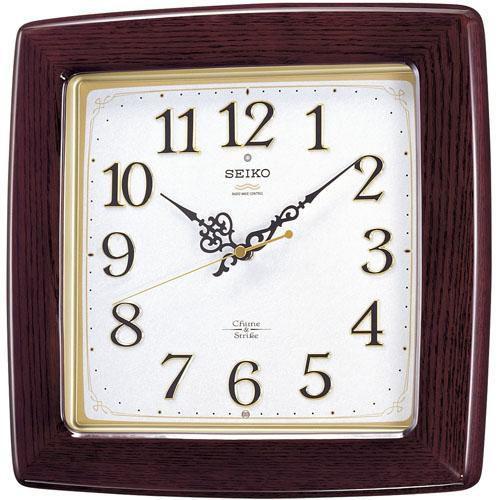 【お取り寄せ】SEIKO(セイコー) 壁掛け時計 電波時計 Chime&Strike チャイム・・・