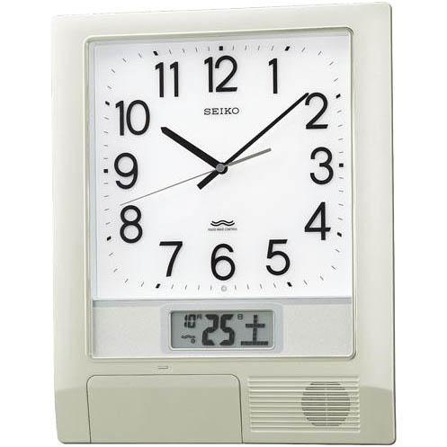 SEIKO(セイコー) 掛時計 電波時計 オフィスタイプ『プログラムクロック』PT20・・・