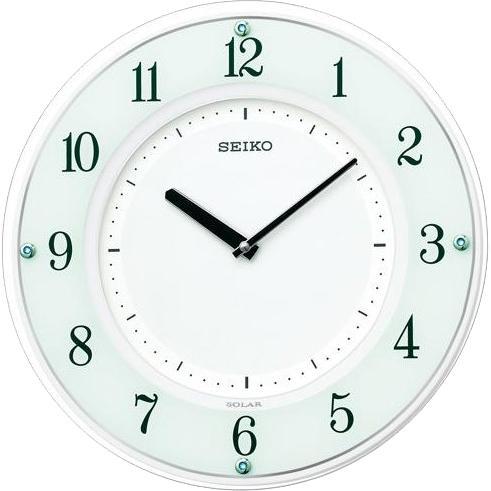 SEIKO(セイコー) 掛時計『SOLAR+(ソーラープラス)』ソーラー電波時計 SF505・・・