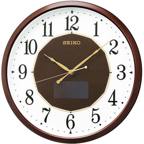 【お取り寄せ】SEIKO(セイコー) ハイブリッドソーラー掛時計 電波掛時計 SF24・・・