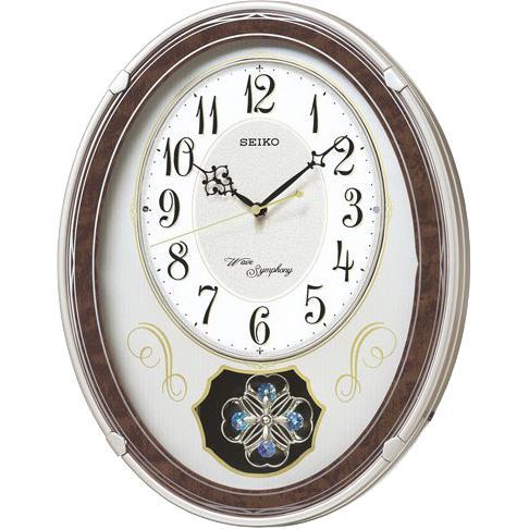 SEIKO(セイコー) 電波時計  壁掛け時計 AM259B