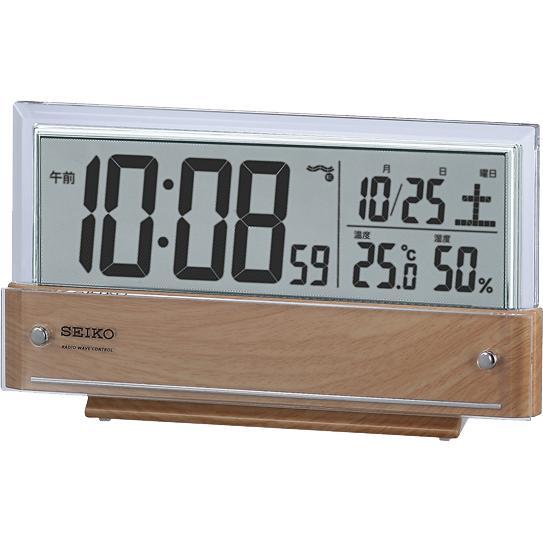 SEIKO(セイコー) シースルー液晶 デジタル時計 SQ782B