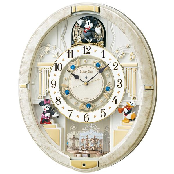 SEIKO(セイコー) 壁掛時計 『ディズニータイム ミッキー&フレンズ』 FW580W
