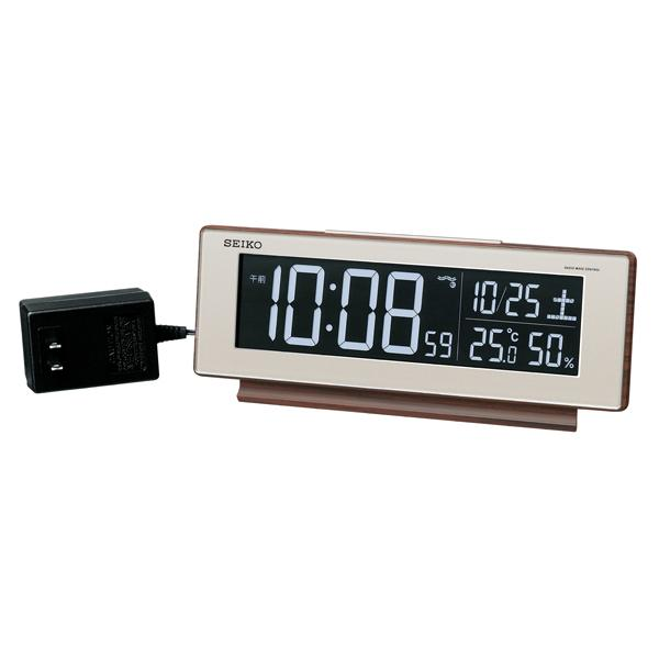 SEIKO(セイコー) 交流電源 デジタル電波置時計 DL211B