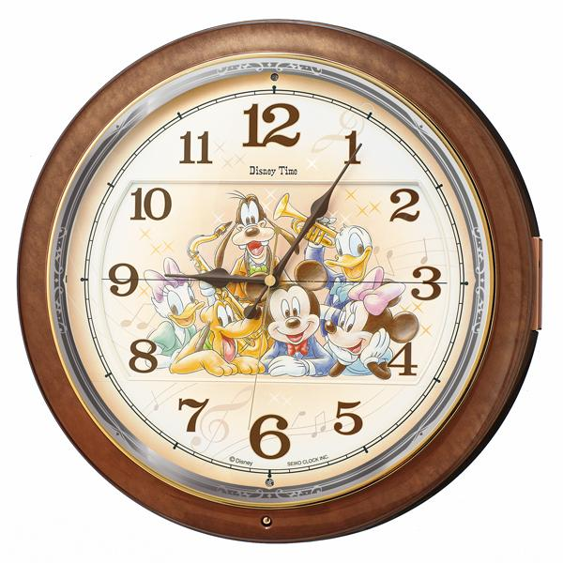 1830771d14 SEIKO(セイコー) 壁掛時計 『ディズニータイム ミッキー&フレンズ』 FW587B