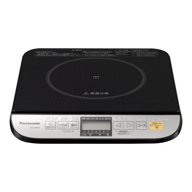 Panasonic(パナソニック) 卓上IH調理器 KZ-PH33-K (ブラック・・・