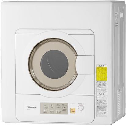 Panasonic(パナソニック) 乾燥容量 6.0kg 衣類乾燥機 NH-D603-W (ホワイト)