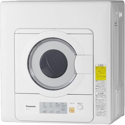 Panasonic(パナソニック) 乾燥容量 5.0kg 衣類乾燥機 NH-D503-W (ホワイト)