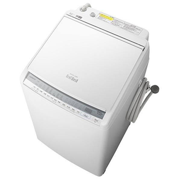 【日付・時間指定不可】HITACHI(日立) 洗濯・脱水容量8.0kg 洗濯~乾燥・乾燥・・・