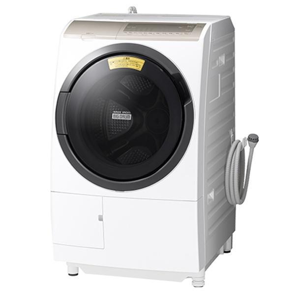 【日付・時間指定不可】HITACHI(日立) 左開き ドラム式洗濯乾燥機 『ビッグド・・・