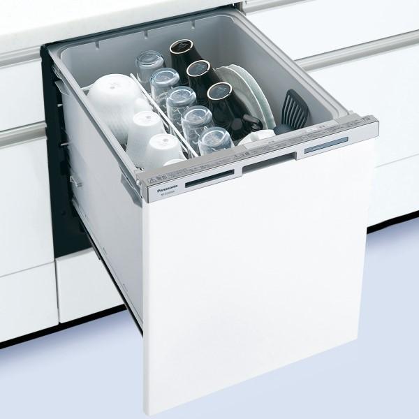 Panasonic(パナソニック) ディープタイプ(幅45cm) ドア面材型 ビルトイン食器・・・