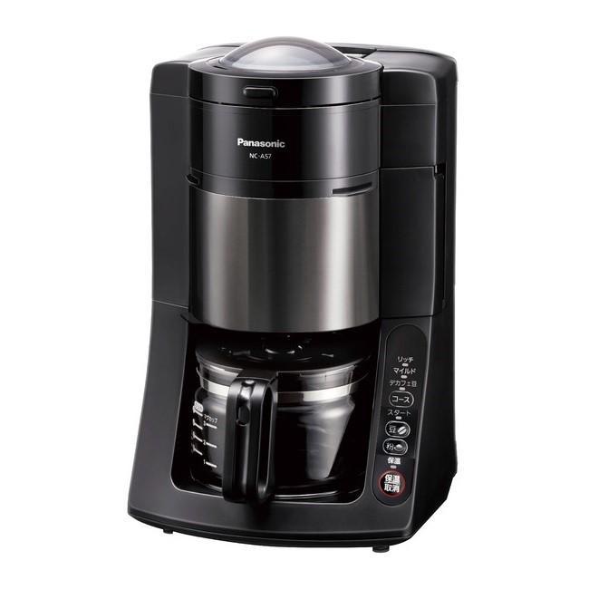 Panasonic(パナソニック) 5カップ(670ml) 沸騰浄水コーヒーメーカー NC-A57-K・・・
