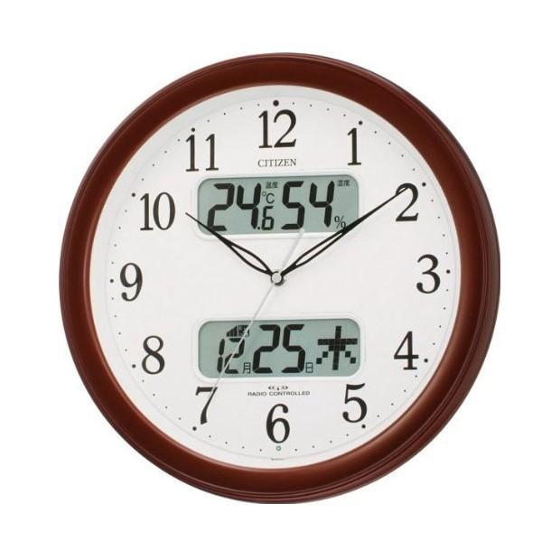 シチズン 壁掛時計 電波時計『ネムリーナカレンダーM01』4FYA01-00・・・