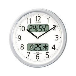 CITIZEN(シチズン) 壁掛時計 電波時計『ネムリーナカレンダーM01』4FYA01-019