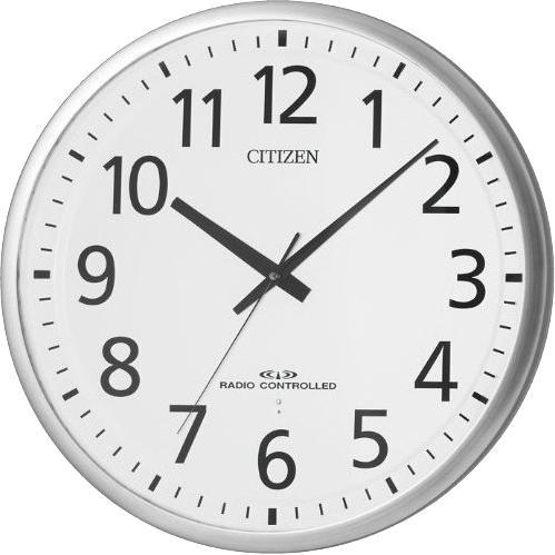 CITIZEN(シチズン) 電波掛時計 『スペイシーM465』8MY465-019