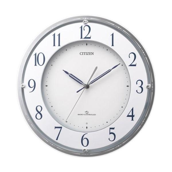 CITIZEN(シチズン) 電波掛時計 『スリーウェイブM823』 4MY823-003