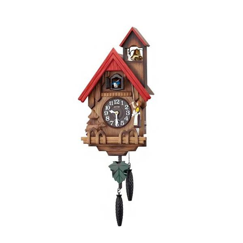 リズム時計 掛時計 『カッコーチロリアンR』 4MJ732RH06