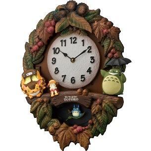 リズム時計 キャラクター掛時計 『トトロM429』 4MJ429-M0・・・