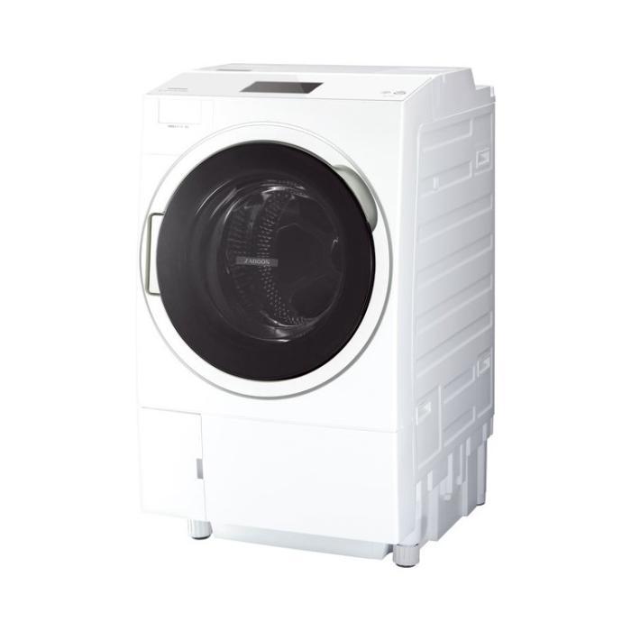 【日付・時間指定不可】TOSHIBA(東芝) 洗濯・脱水容量12kg 乾燥容量7kg 左開・・・