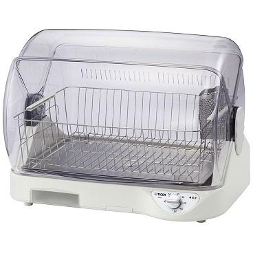 TIGER(タイガー) 温風式 食器乾燥機 『サラピッカ』 DHG-S400-W (ホワイト)