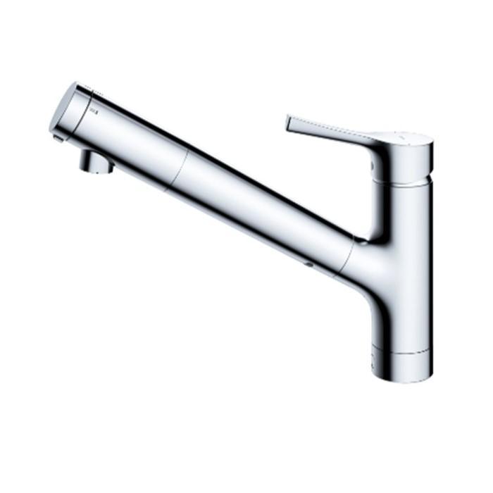 TOTO 浄水機能付き 台付1穴混合水栓(メタルハンドル) 『GGシリーズ(台所用・・・