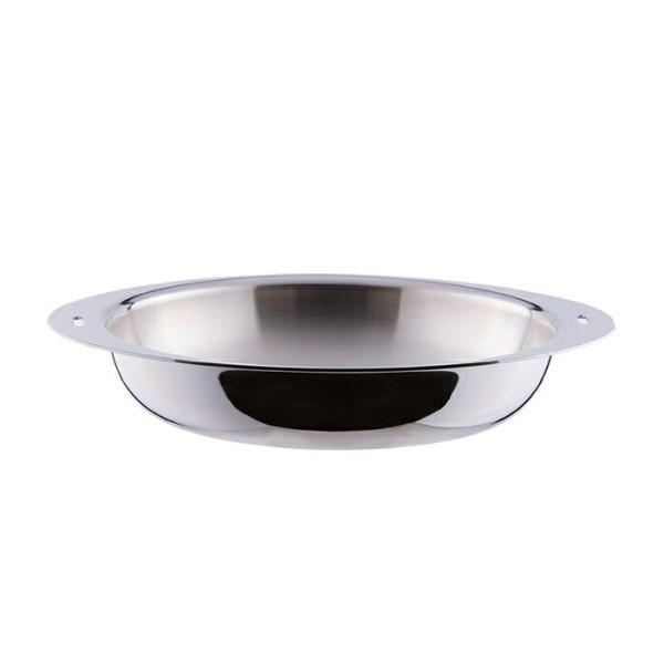 【お取り寄せ】宮崎製作所 25cm 全面アルミ芯三層鋼 日本製 IH対応 電磁調理器対応 オーブン対応 収納 フライパン ミラー 『Miyaco 十得鍋』 JN-25FS