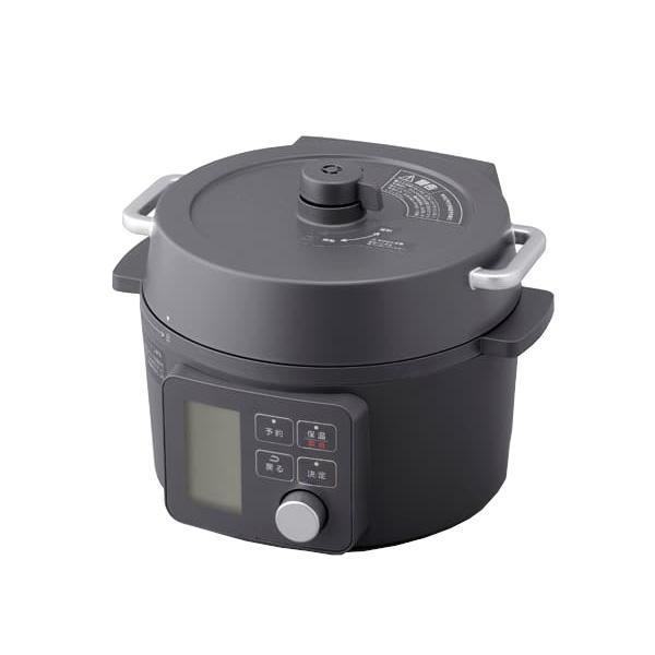 アイリスオーヤマ 2.2L 電気圧力鍋 KPC-MA2-B (ブラック)